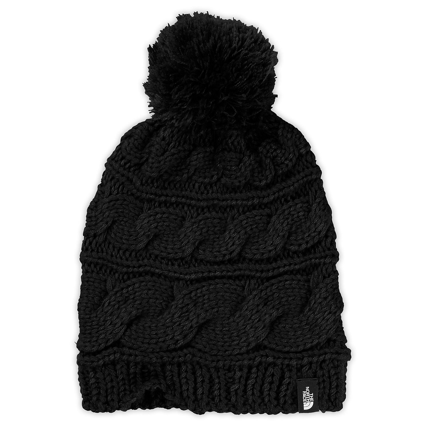 2fc50e0dc The North Face Women's Triple Cable Pom Beanie