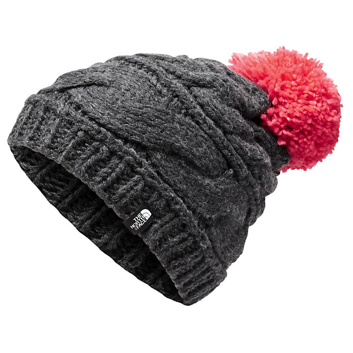 c85fead381b39 The North Face Women s Triple Cable Pom Beanie - Mountain Steals