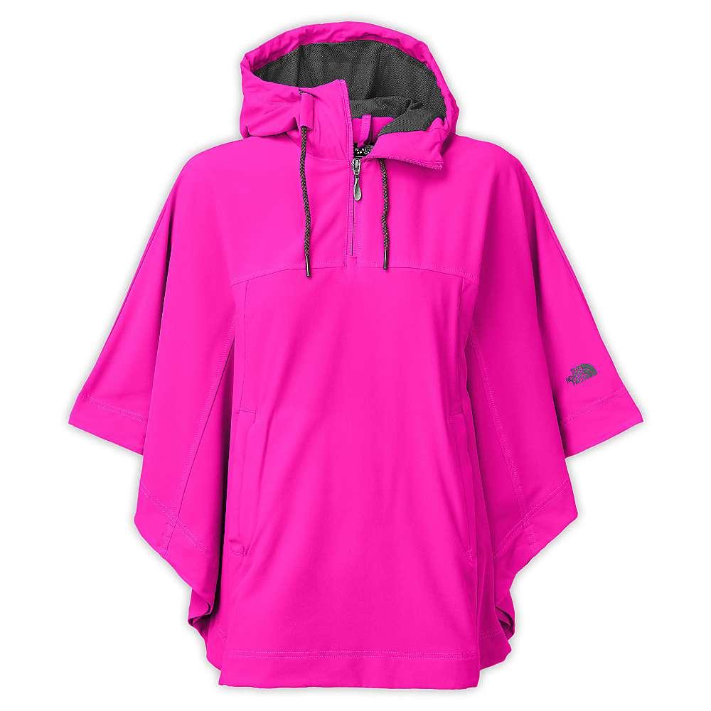 The North Face Women's Vida Poncho. Luminous Pink. 0:00