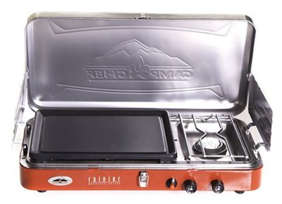 Camp Chef Rainier Stove with Griddle