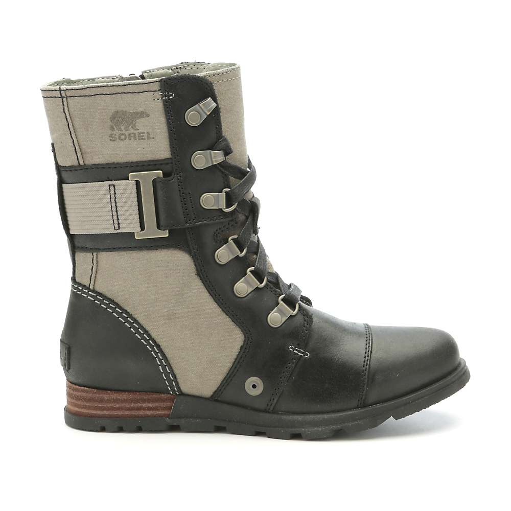 Sorel Womens Major Carly Boot Wet Sand   Black 000