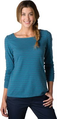 Toad & Co Women's Stripe Out Boat Neck Tee