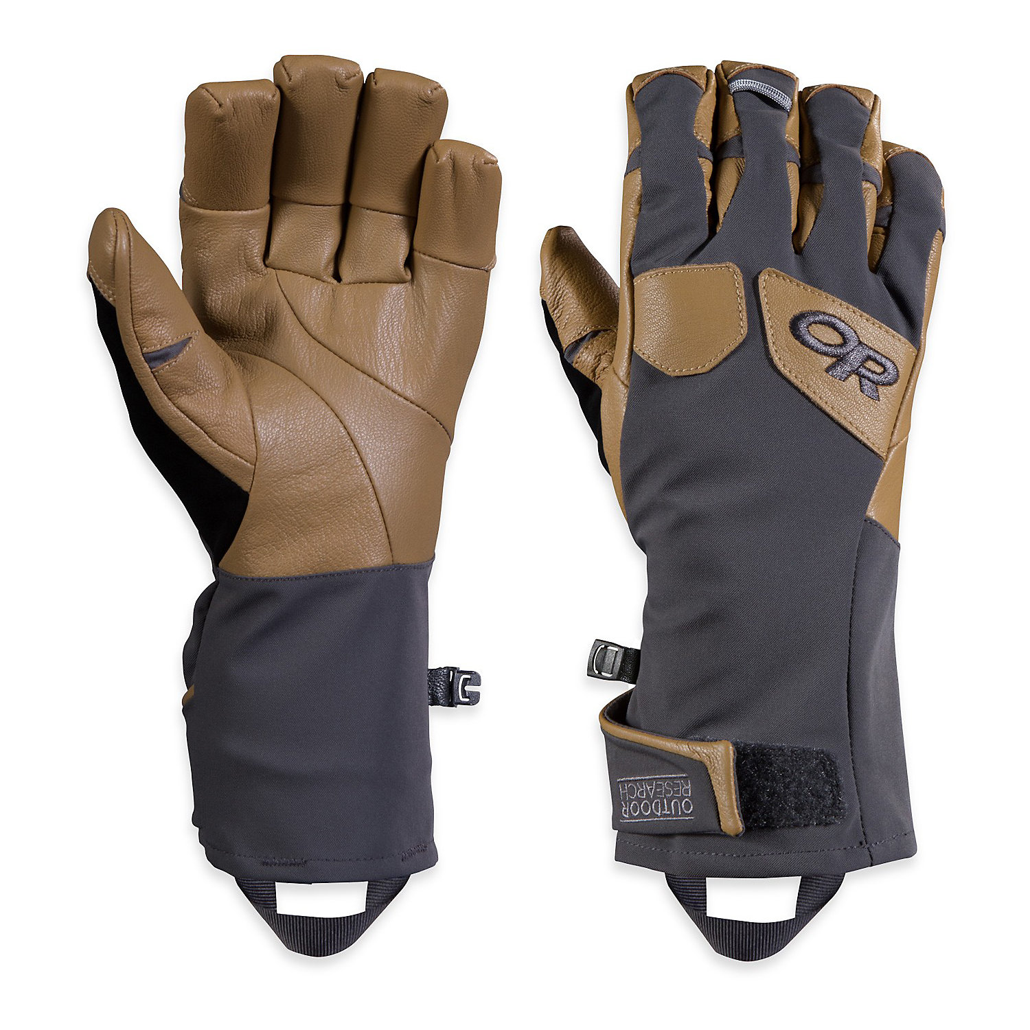 Black Charcoal All Sizes Outdoor Research Extravert Mens Gloves Snow