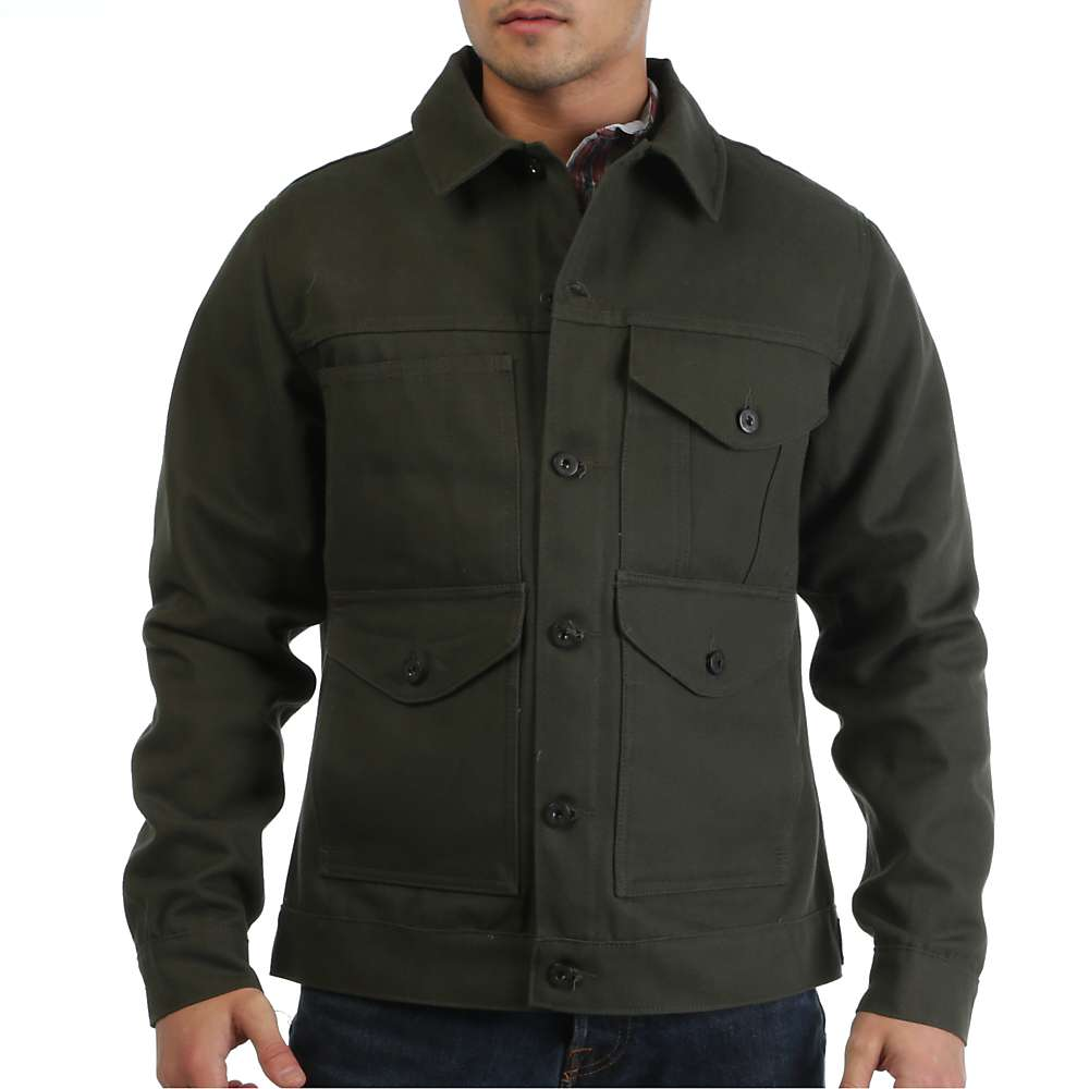 Filson Men's Short Cruiser Jacket - at Moosejaw.com