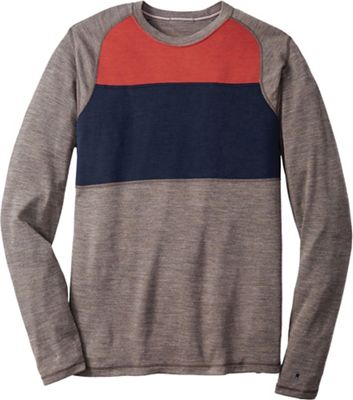 Smartwool Men's NTS Mid 250 Color Block Crew Top
