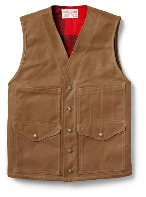 Filson Men's Lined Cruiser Vest