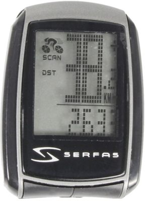 Serfas SI-40 22 Function Wireless Bike Computer