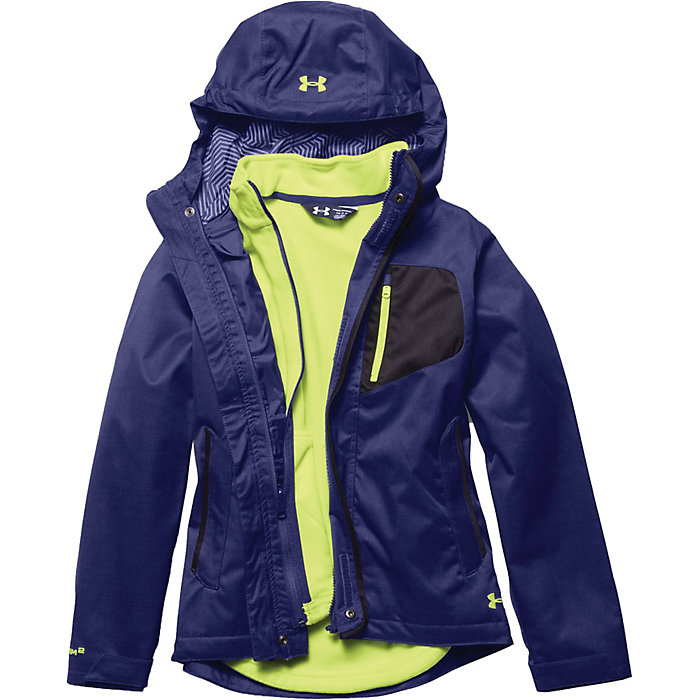 808c0eaec2d5 Under Armour Girl s ColdGear Infrared Gemma 3 In 1 Jacket - Moosejaw
