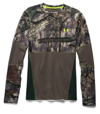 Under Armour Men's Coldgear Infrared Scent Control Tevo Crew