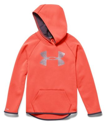 Under Armour Girls' Armour Fleece Big Logo Hoody