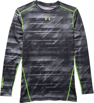 Under Armour Men's ColdGear Armour Printed Compression Crew Top