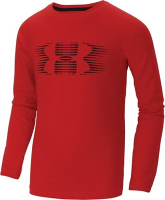 Under Armour Boys' Waffle Crew Top