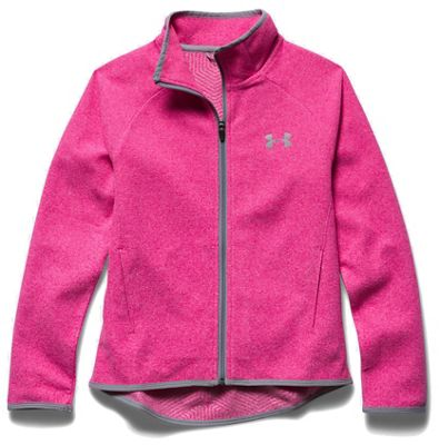 Under Armour Girls' The ColdGear Infrared Fleece Full Zip Top