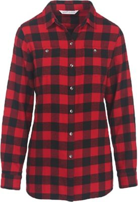 Woolrich Women's Buffalo Check Boyfriend Shirt