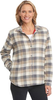 Woolrich Women's Pemberton Fleece Lined Flannel Shirt Jac