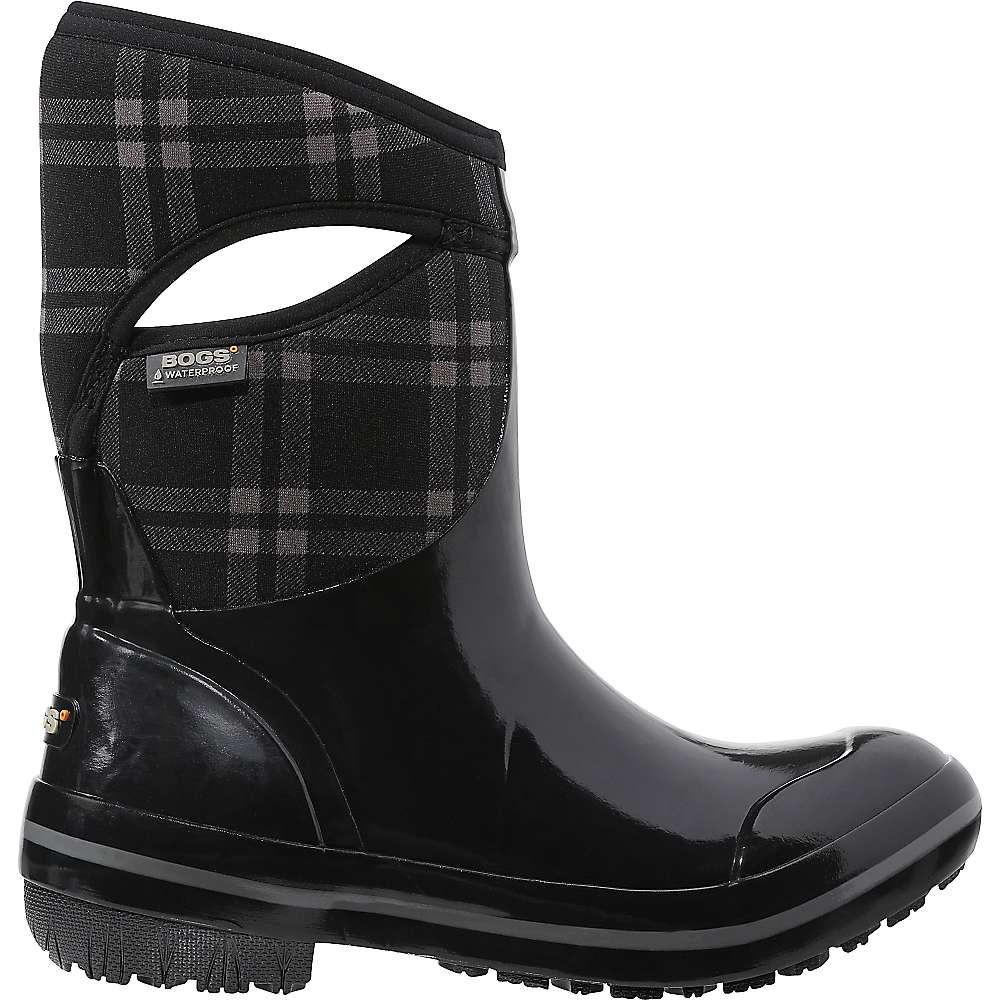 Awesome Bogs Outdoor Footwear Womens Waterproof Boots Pull On Pansies 72071 | EBay