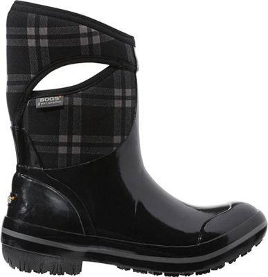 Bogs Women's Plimsoll Plaid Mid Boot