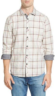 Jeremiah Men's Hartson Nep Slub Heather Twill Shirt