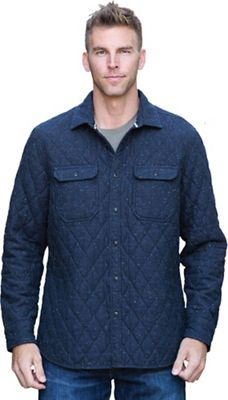 Jeremiah Men's Ramsey Herringbone Quilt Shirt Jacket