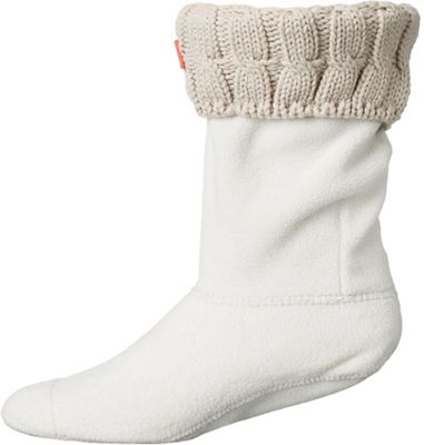 Hunter Women's Original 6 Stitch Cable Short Boot Sock