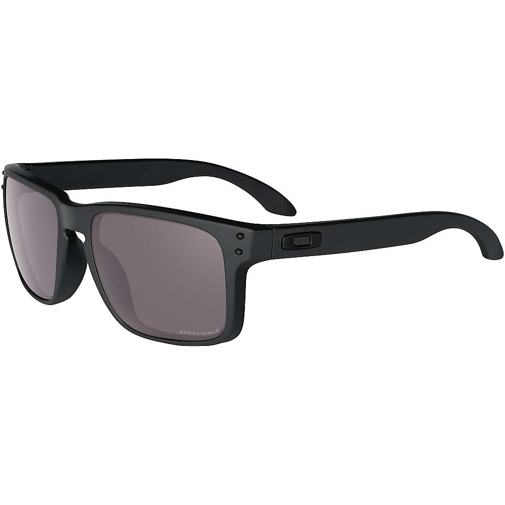 oakley holbrook covert matte black sunglasses with prizm daily polarized lenses