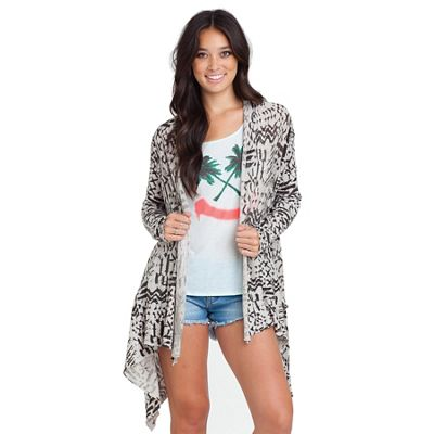 Billabong Women's Seaside Dreamz Cardigan