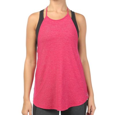 Beyond Yoga Women's Cloud Heather Halter Tank
