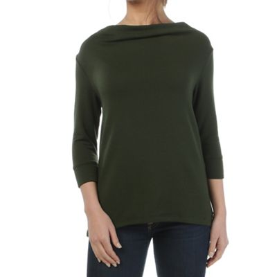 Beyond Yoga Women's Cozy Fleece Crossed Cowl Pullover
