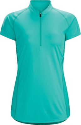 Arcteryx Women's Kapta Zip Neck SS Top