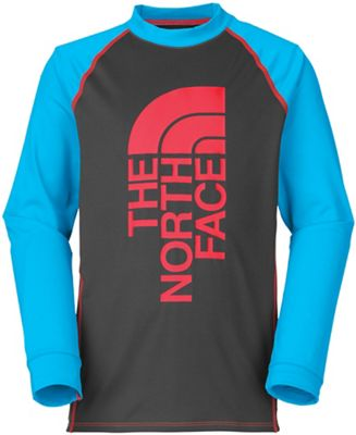 The North Face Boys' Dog Patch LS Rash Guard