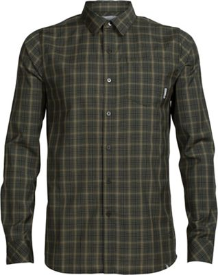 Icebreaker Men's Departure II LS Shirt Plaid