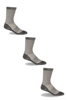 Icebreaker Men's Hike Basic Medium Crew 3 Pack Socks