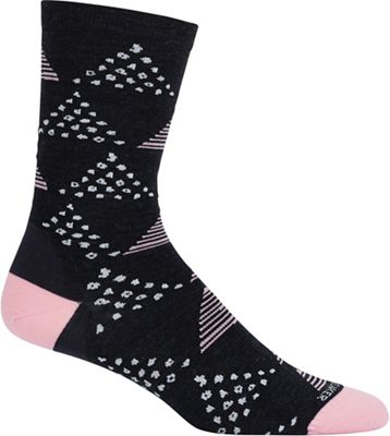 Icebreaker Women's LifeStyle Fine Gauge Ultra Light Crew Sock