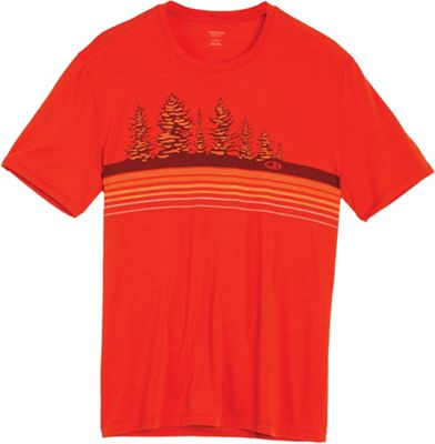 Icebreaker Men's Tech Lite SS Crewe Tree Line