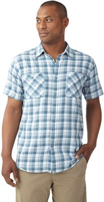 Royal Robbins Men's Biscayne Bay Plaid SS Shirt