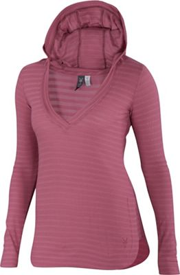 Ibex Women's Shadow Stripe Hoody