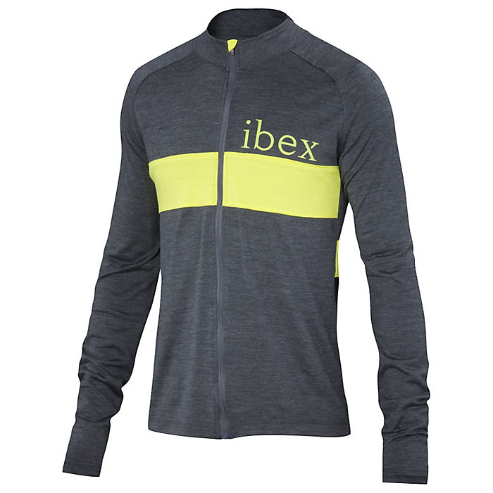 Ibex Men s Spoke Full Zip LS Jersey. Double tap to zoom 1aa09c864