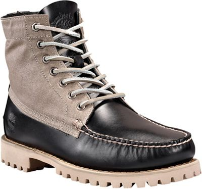 Timberland Men's Authentics Leather and Fabric Chukka Boot