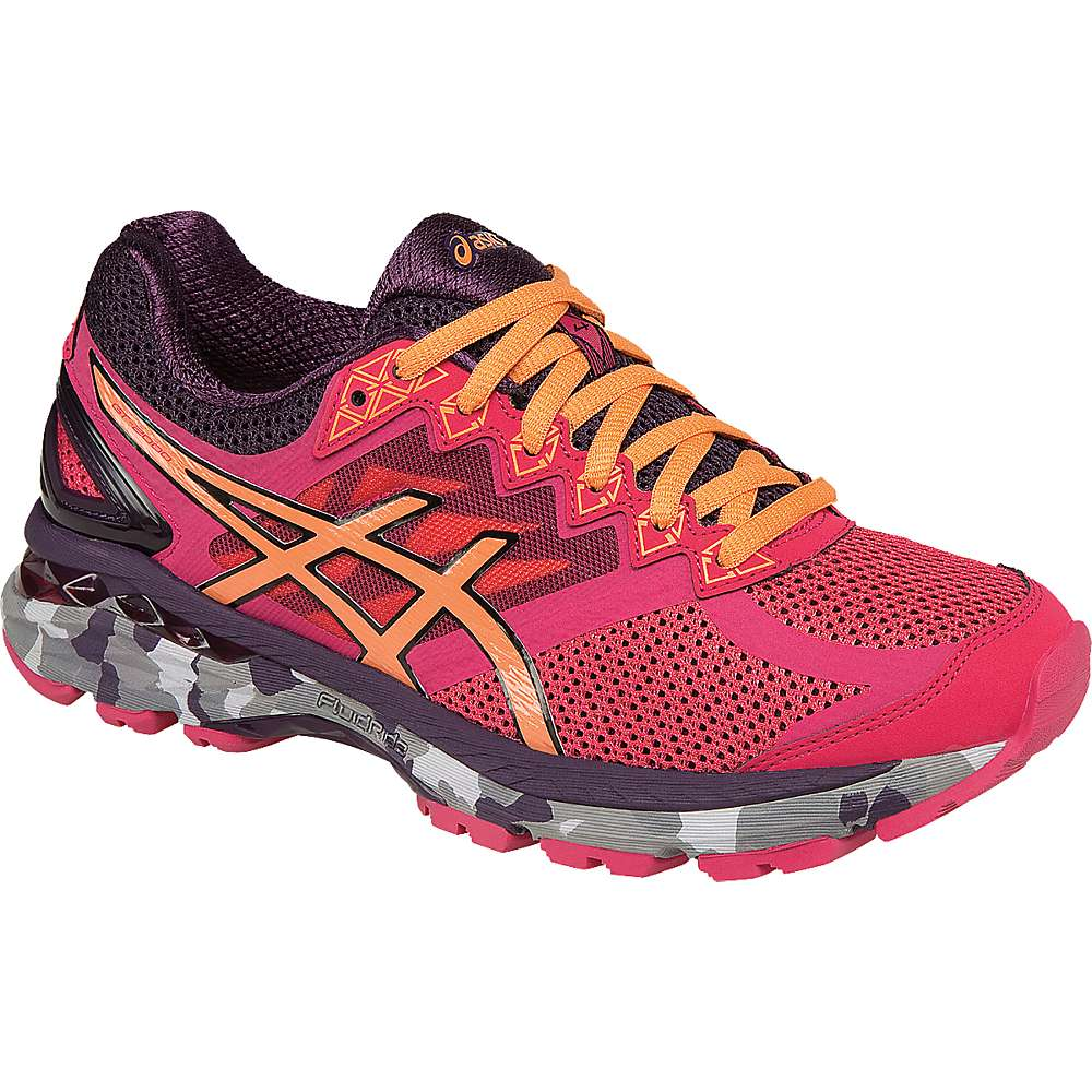 Asics Women's Gt 2000 4 Trail Shoe. Azalea / Melon / Perfect Plum. 0:00