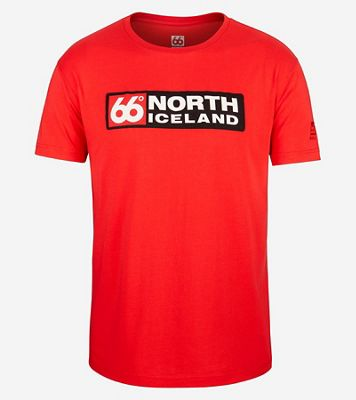 66North Men's Logn Long Logo T-Shirt