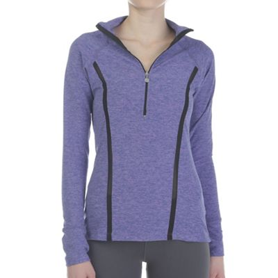 Beyond Yoga Women's Lattice Half Zip Pullover