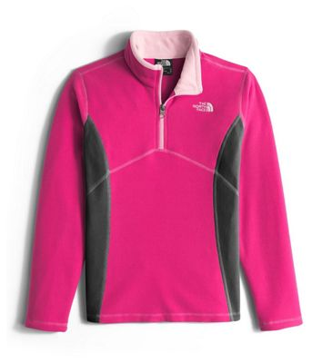 The North Face Girls' Glacier 1/4 Zip Top