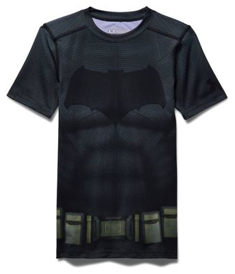 Under Armour Boys' Batman SS Suit