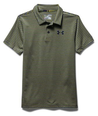 Under Armour Boys' Composite Stripe Polo