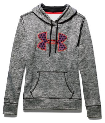 Under Armour Women's Armour Fleece Big Logo Twist Hoody