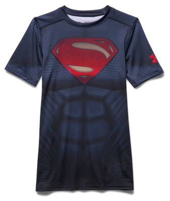 Under Armour Boys' Superman SS Suit