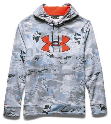 Under Armour Men's Camo Big Logo Hoodie