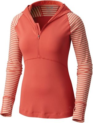 Mountain Hardwear Women's Butterlicious Stripe Hoody