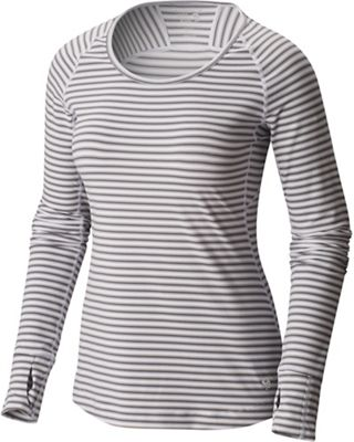 Mountain Hardwear Women's Butterlicious Stripe LS Crew