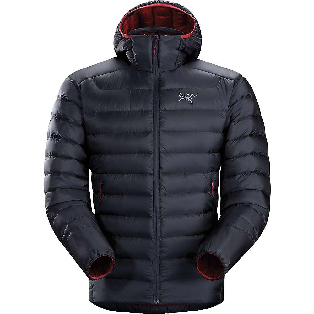 Mens down jacket with hood - Arcteryx Men S Cerium Lt Hoody